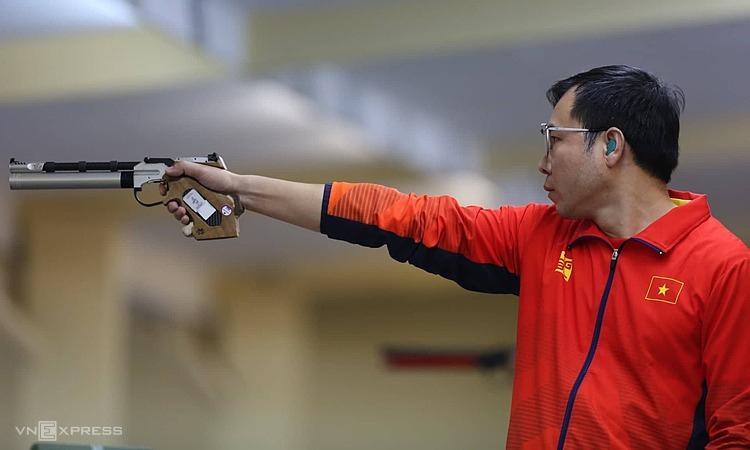 Hoàng Xuân Vinh là niềm hi vọng số một của bắn súng Việt Nam.