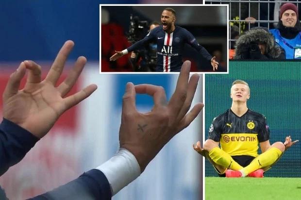 Neymar châm chọc Haaland khi mừng bàn thắng giống hệt đàn em khi mở tỷ số.