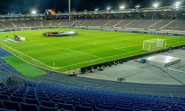 Trận đấu giữa LASK và Man Utd tối 12/3 phải đá trong sân không khán giả. Ảnh: AFP.