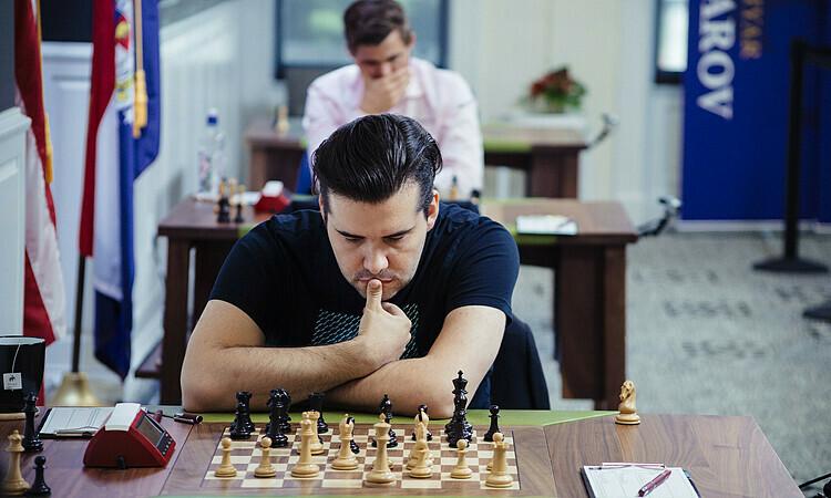Nepom không ngại nếu đụng Carlsen. Ảnh: GCT.