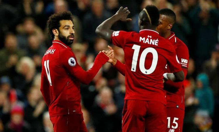 Liverpool chỉ cần thêm vài điểm là đủ lên ngôi. Ảnh: Reuters.