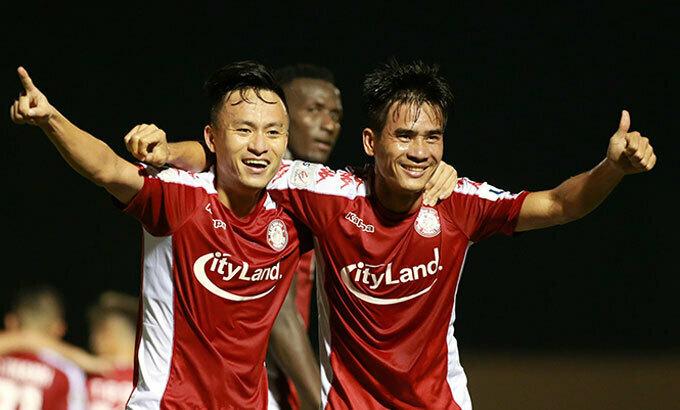 TP HCM đang có phong độ cao sau hai chiến thắng ở V-League và AFC Cup. Ảnh: Lâm Thoả.