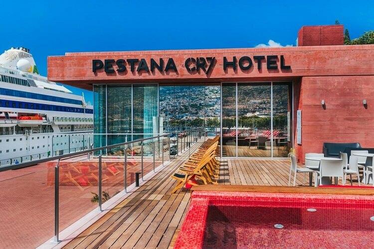 Khách sạn Pestana CR7 không trở thành bệnh viện như báo chí từng đưa. Ảnh: Marca.