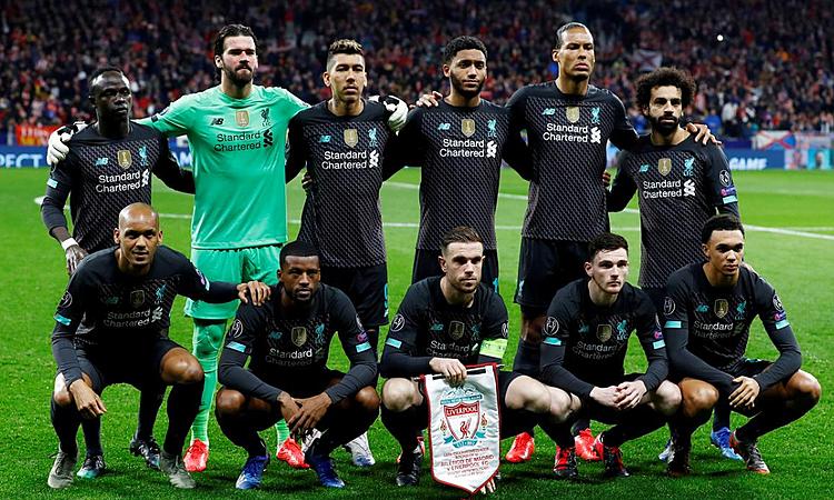 Liverpool bị loại ở Champions League, và chỉ còn thi đấu ở Ngoại hạng Anh. Ảnh: Reuters.