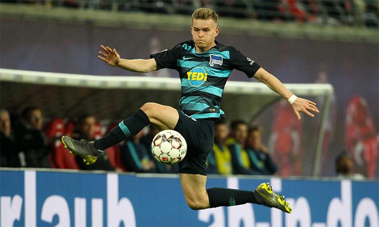 Mittelstadt mới ra sân ba trận trong màu áo Hertha mùa này. Ảnh: Imago.