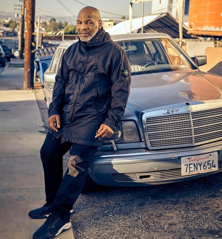 Mike Tyson giản dị của hiện tại, dù có lúc từng sở hữu khối tài sản 400 triệu USD.