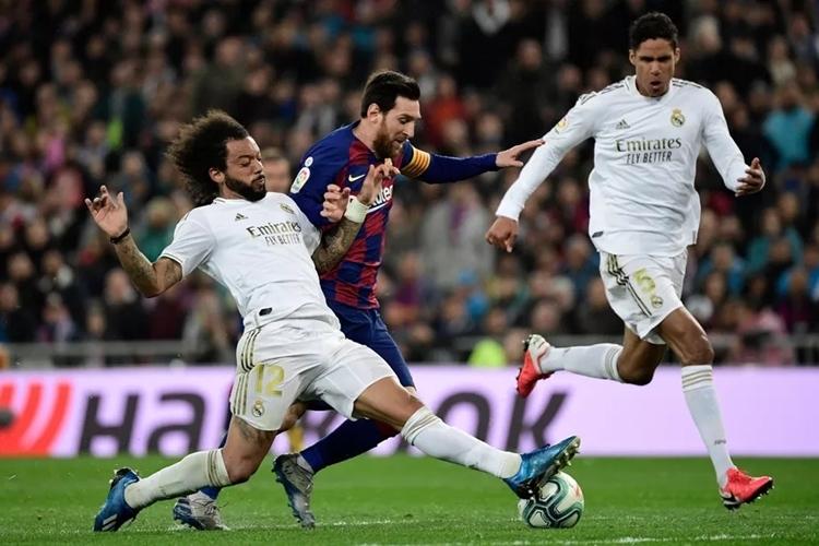 Các CLB La Liga sẽ phải đá 11 trận còn lại trong vòng hơn sáu tuần. Ảnh: AFP.