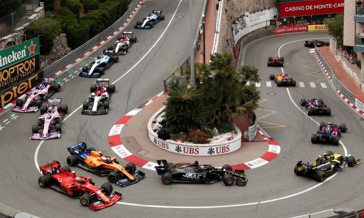 GP摩纳哥大奖赛是赛车村的三大赛事之一,不能像往常一样在5月底举行。 图片:路透社。