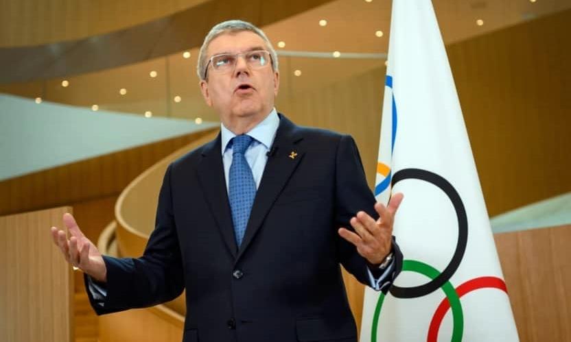 Chủ tịch IOC Thomas Bach. Ảnh: AFP.