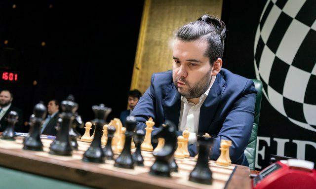 Nepomniachtchi đang giữ đỉnh bảng Candidates. Ảnh: FIDE.