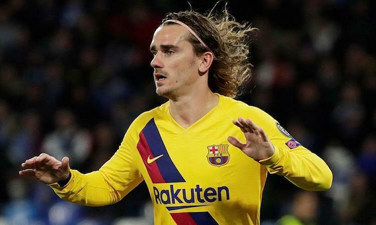 Griezmann có thể phải ra đichỉ sau một mùa giải khoác áo Barca. Ảnh: Reuters.
