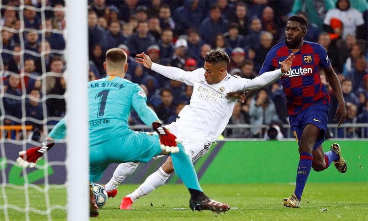 La Liga chưa rõ ngày trở lại. Ảnh: Reuters.