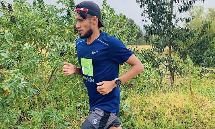 Ayala từng tham dự môn marathon ở Olympic 2016. Ảnh: Golders.