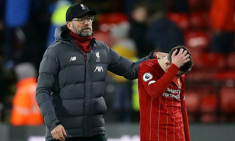 Liverpool chỉ cách chức vô địch Ngoại hạng Anh hai trận thắng. Ảnh: Reuters.
