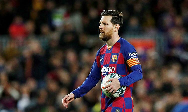 Lời phản pháo của Messi được cho là nhắm vào chủ tịch Bartomeu. Ảnh: Reuters.