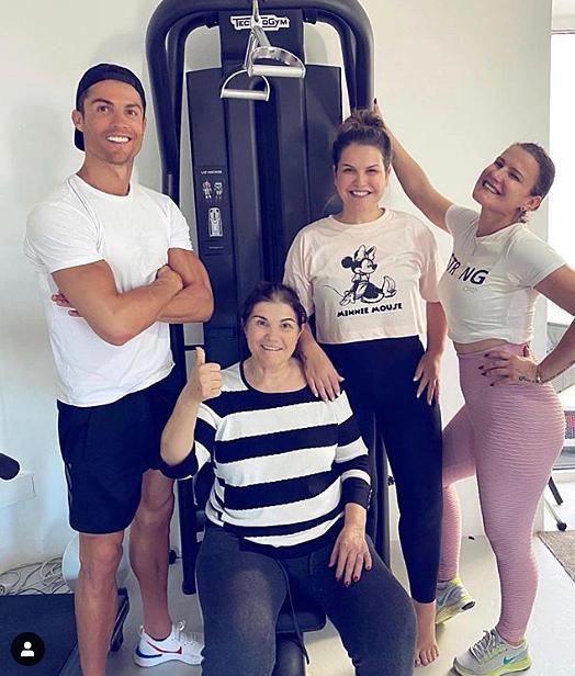 Bức ảnh mới nhất của Ronaldo trên Instagram. Ảnh: Instagram.