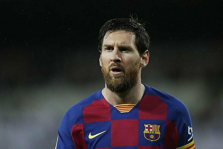 Messi được giải oan sau phát biểu của Bartomeu. Ảnh: AP.