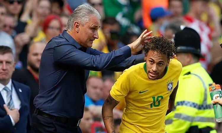 Tite cho rằng Brazil không phụ thuộc vào việc có Neymar hay không. Ảnh: Reuters.