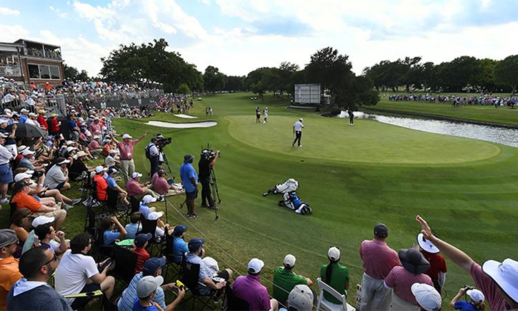 Sân Colonial Country Club là nơi đăng caiCharles Schwab Challenge. Ảnh: PGA Tour.