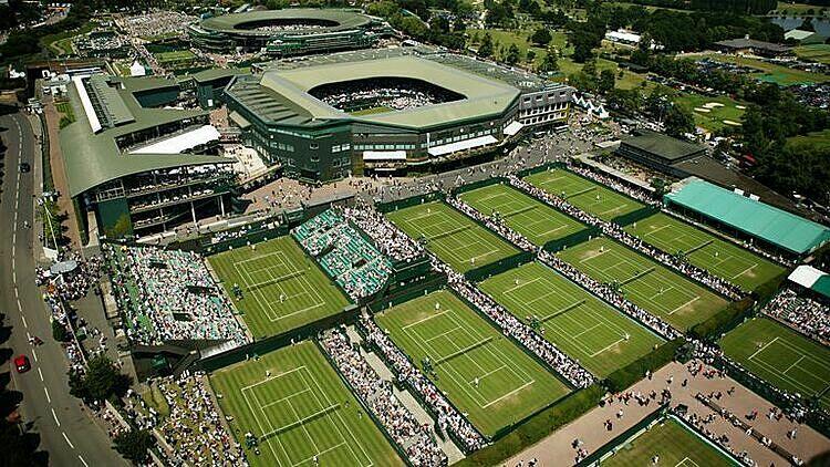 Wimbledon lần sau bị hủy kể từ sau Thế chiến thứ II. Ảnh: Sky.