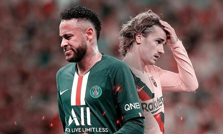 Neymar (trái) đang ở đỉnh sự nghiệp. Ảnh: SS.