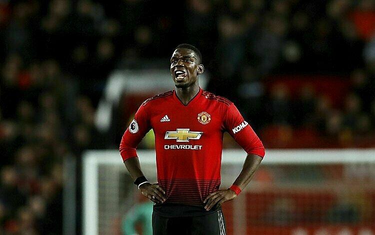 Tầm ảnh hưởng của Pogba tại Man Utd ngày càng giảm. Ảnh: AP.