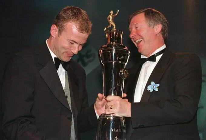 Shearer lỡ cơ hội làm nên lịch sử với Man Utd và Ferguson. Ảnh:Empics Sport.