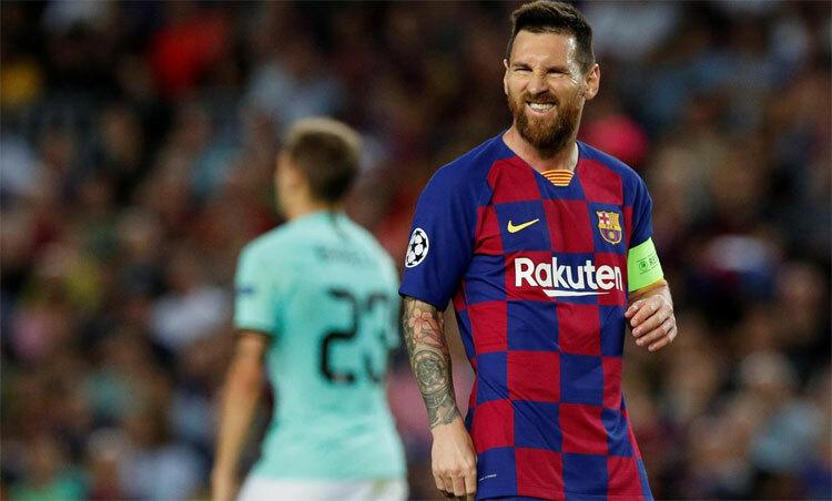 Messi luôn là mục tiêu của những đội bóng lớn. Ảnh: Reuters.