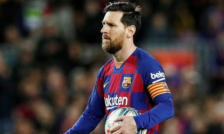 Messi tức giận bởi những tin tức không đúng về bản thân. Ảnh: Reuters.