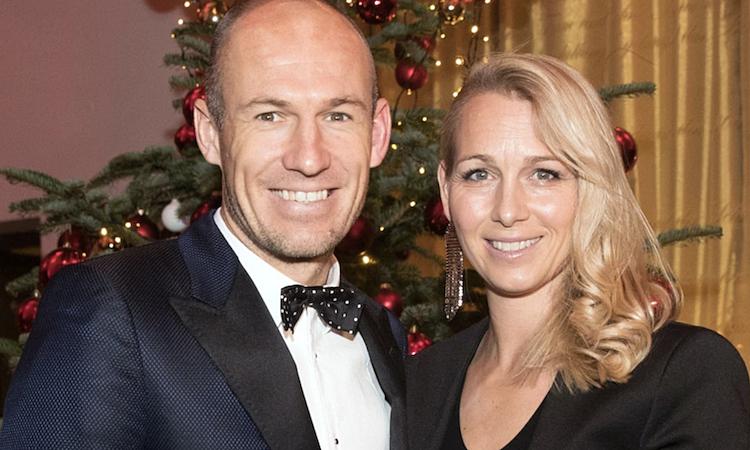Vợ Robben đã qua giai đoạn nguy hiểm và đang dần hồi phục. Ảnh: Sun.