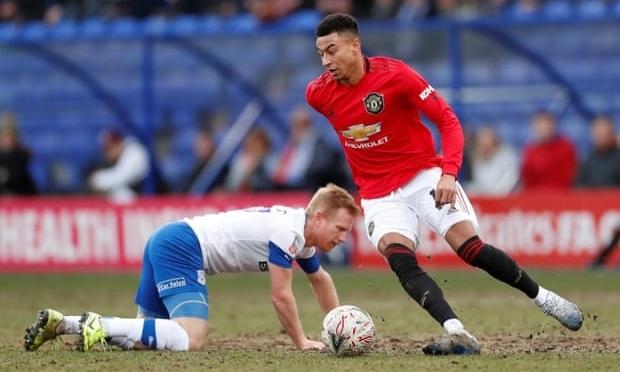Man Utd cất nhiều trụ cột trong chuyến làm khách của Tranmere nhưng vẫn thắng 6-0. Ảnh: Reuters.