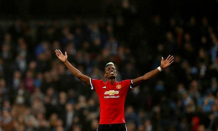 Pogba nói anh vui vì được trở lại Man Utd. Ảnh: Reuters.