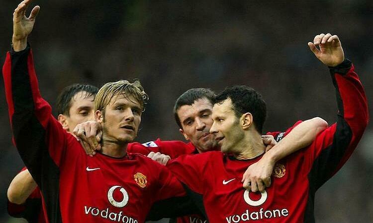 Beckham và Giggs từng là đôi cánh của Man Utd thời được Alex Ferguson dẫn dắt. Ảnh: Reuters.