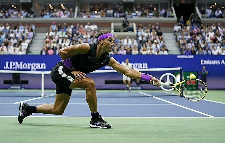 Nadal là nhà vô địch gần nhất ở Mỹ Mở rộng. Ảnh: AP.