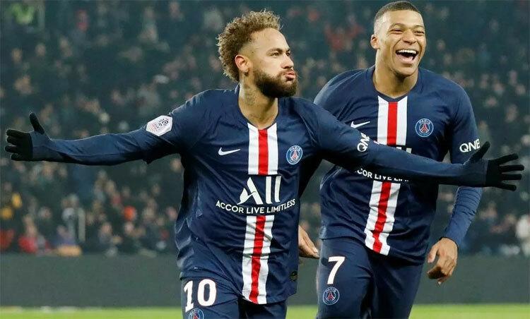 Neymar và Mbappe khó trở lại chơi nốt giai đoạn cuối mùa giải. Ảnh: Reuters.