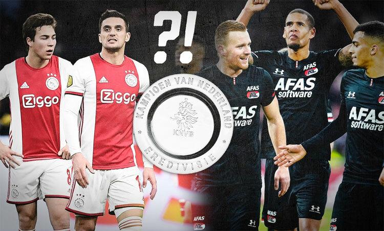 Ajax và AZ đang bằng điểm nhau trong cuộc đua tới chức vô địch Hà Lan.