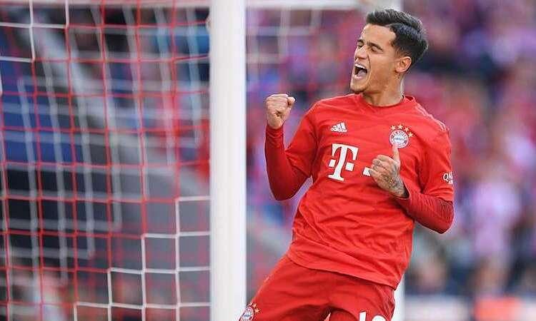 Tương lai của Coutinho chưa rõ ràng sau một năm được cho Bayern mượn. Ảnh: Reuters.
