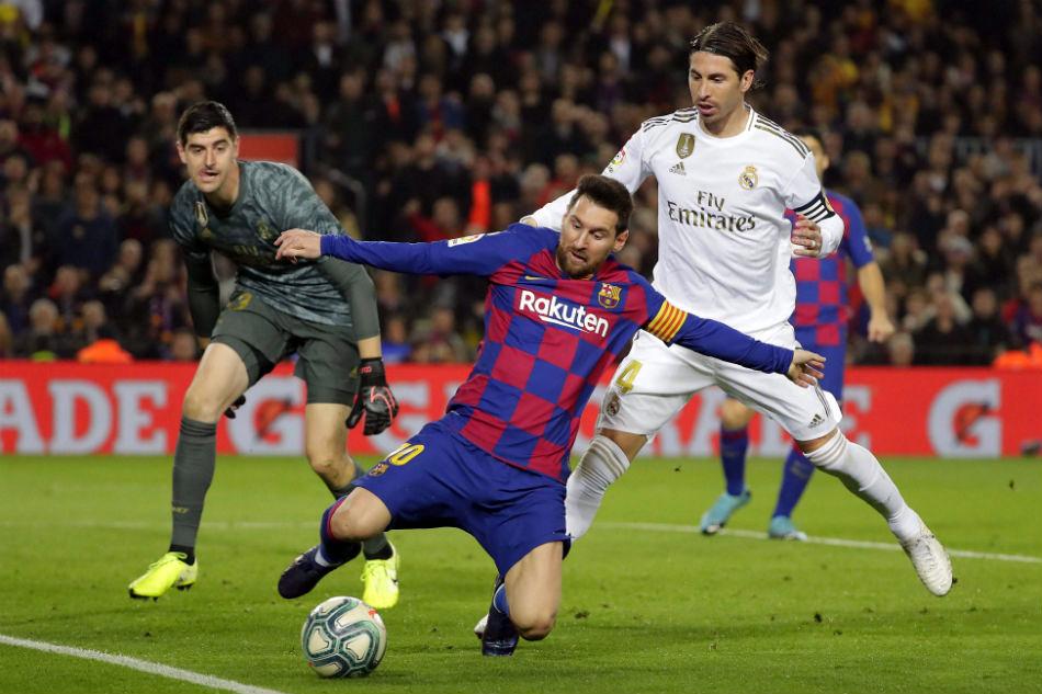 La Liga đang nỗ lực để nối lại giải đấu trong tháng 5/2020. Ảnh: AP.