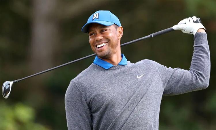 Tiger Woods góp phần tạo ra những cột mốc mới trong việc tăng trưởng tiền thưởng ở PGA Tour. Ảnh: PA.