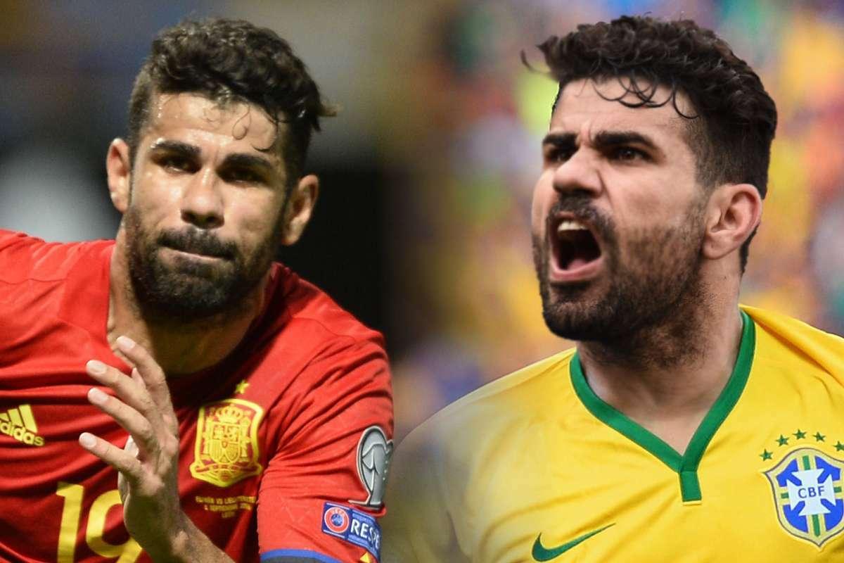Costa nói rằng anh chỉ nhận lời khoác áo tuyển Tây Ban Nha sau khi bị HLV tuyển Brazil Scolari lãng quên.