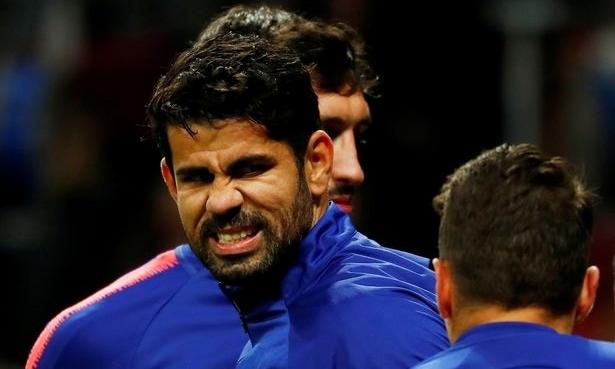 Diego Costa là ngôi sao số một của Atletico mùa 2013-2014. Trên hành trình tới chung kết Champions League, Atletico lần lượt hạ Milan, Barca và Chelsea. Ảnh: Reuters.