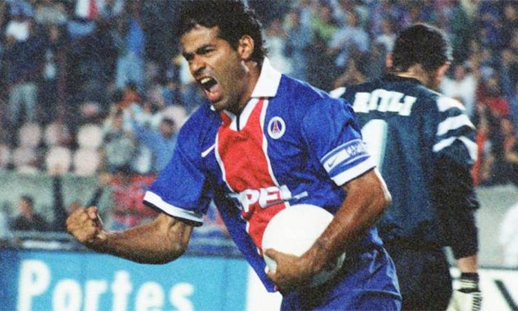 Rai từng cùng PSG đoạt bảy danh hiệu ở Pháp và châu Âu. Ảnh: PSG.fr.