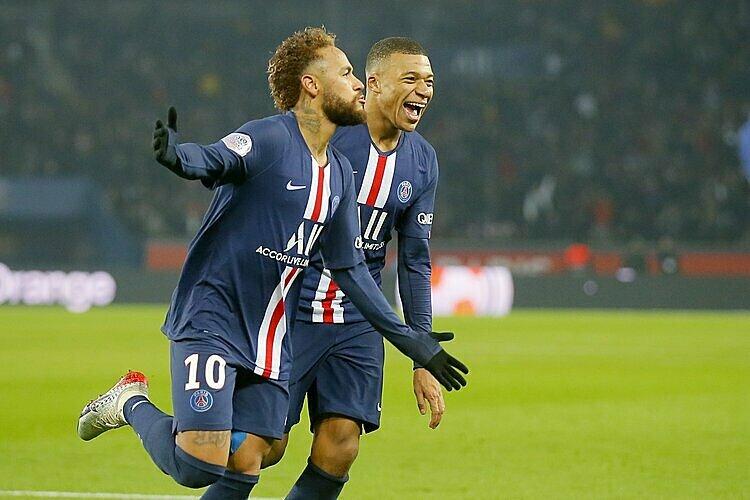PSG sẽ lần thứ ba liên tiếp vô địch Ligue 1. Ảnh: AP.