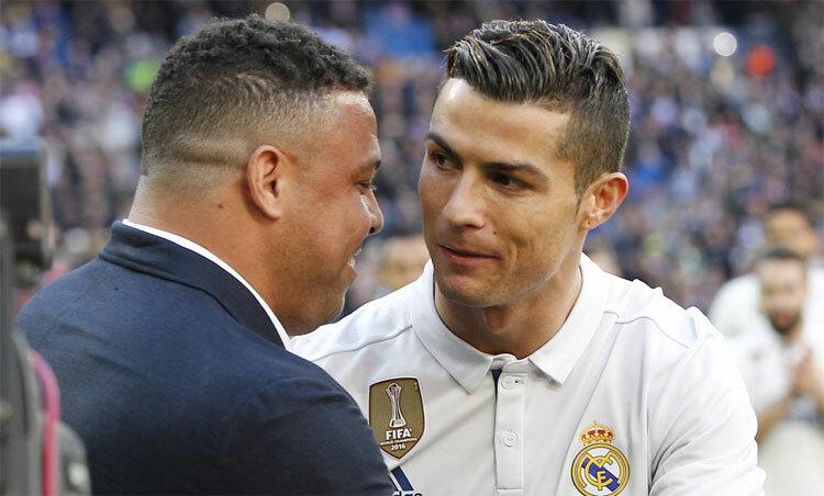 CĐV khó đánh giá ai giỏi hơn giữa hai Ronaldo. Ảnh: AS.