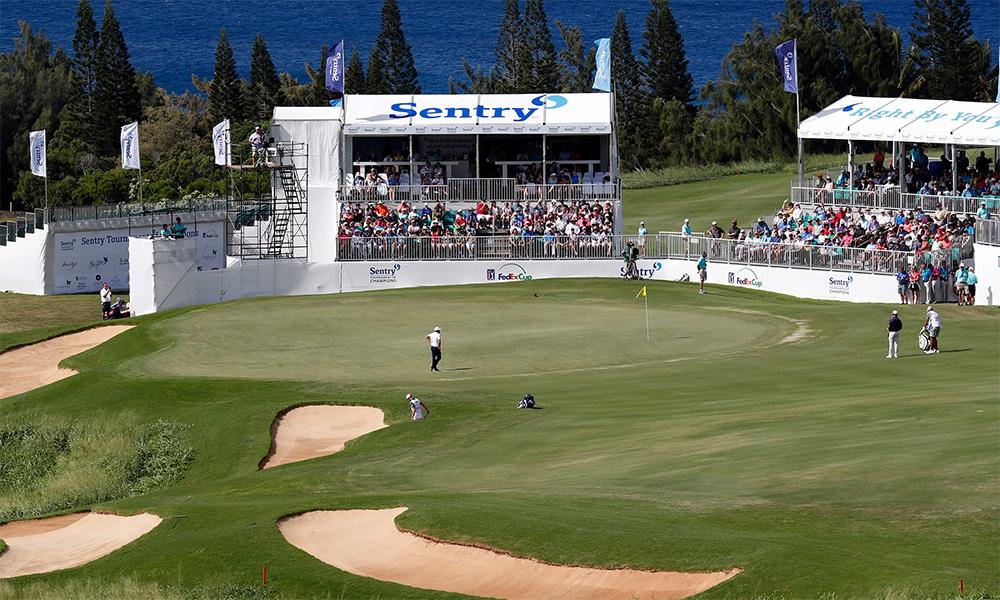 Sentry Tournament sẽ phải nới tiêu chí lựa chọn nhân sự, vì dịch bệnh khiến nhiều sự kiện PGA Tour năm nay bị hoãn hoặc huỷ. Ảnh: USA Today.