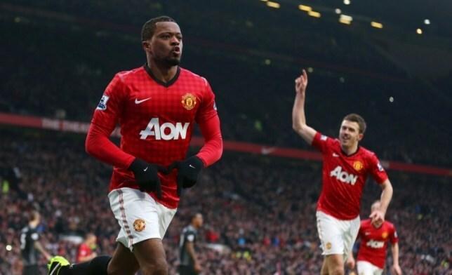 Evra gặt hái được nhiều thành công nhất trong màu áo Man Utd. Ảnh: Reuters.