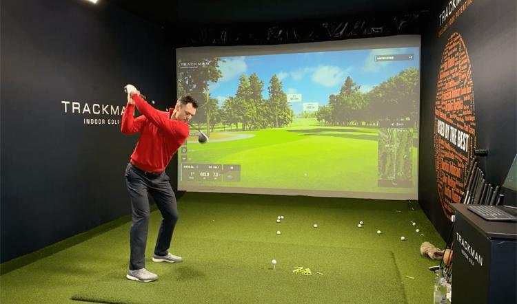 Tổ chức giải golf thực tế ảo giúp người hâm mộ European Tour có thêm một món ăn tinh thần, đồng thời mang lại tiền cho các hoạt động từ thiện. Ảnh: Golf Channel.