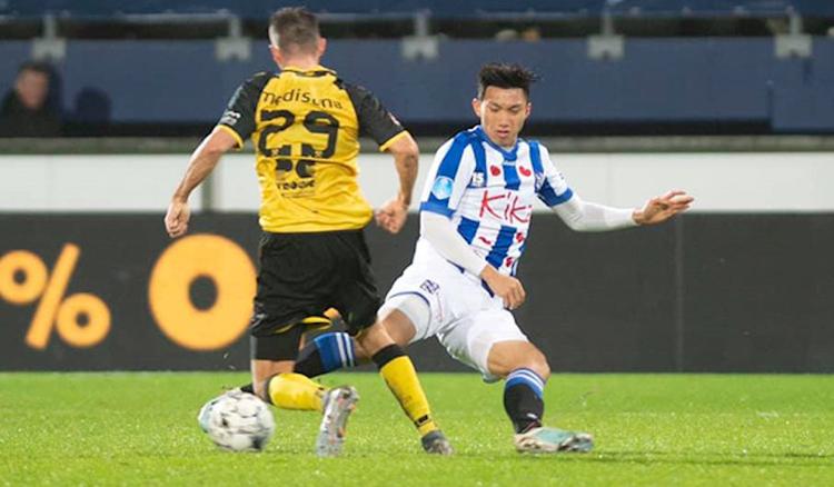 Đoàn Văn Hậu hiện là cầu thủ Việt Nam hưởng lao cao nhất, khoảng 20.000 euro mỗi tháng sau thuế.