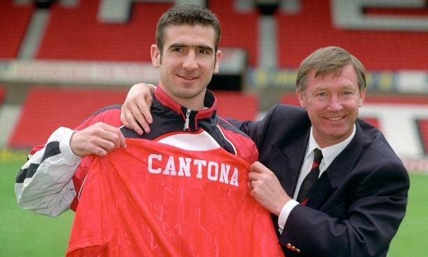 Theo Giggs, Eric Cantona là cầu thủ không bị động đến thời Alex Ferguson. Ảnh: PA.