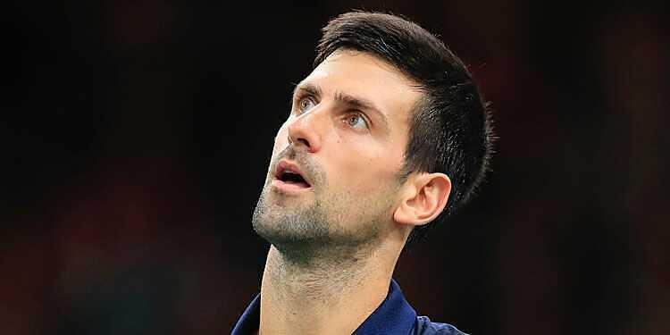 Djokovic gây hoang mang dư luận với thuyết bí ẩn về cấu trúc phân tử nước. Ảnh: AP.
